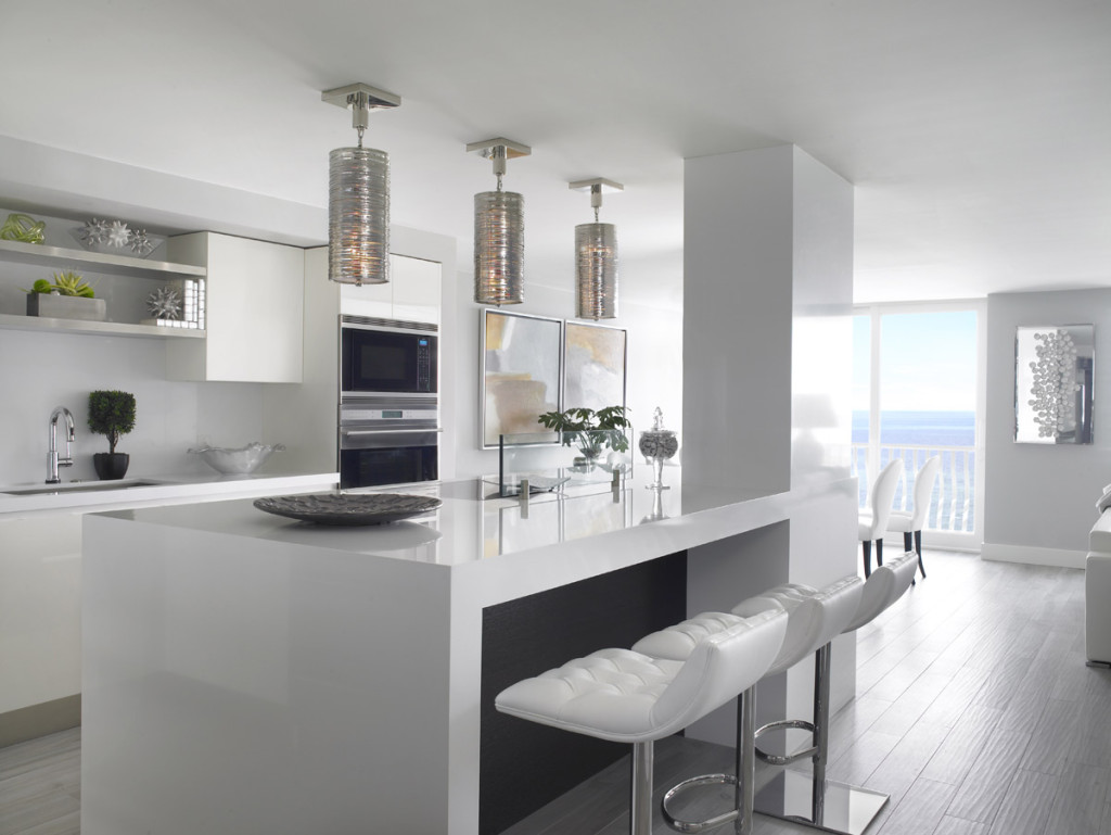 Elements of a Modern Penthouse Kitchen Interiors By SBI